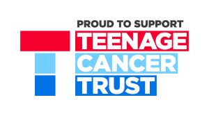 Garage in Didcot - Teenage cancer trust logo