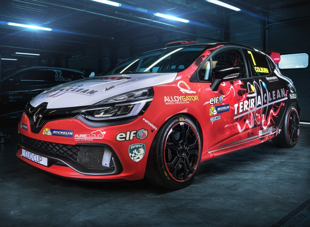 New Clio Cup Car